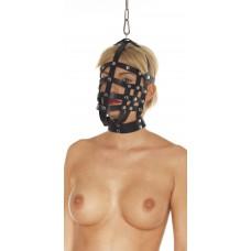 Bondage lær maske