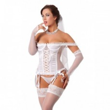 Amorable - Wedding Basque Set
