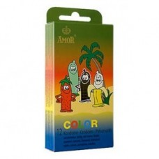 Amor color kondomer 12 pk