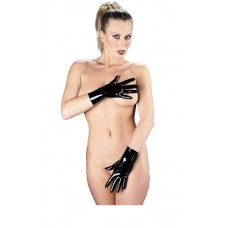 Latex Short Unisex Gloves
