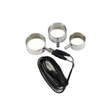 Elektro 3pk penisring i aluminium.