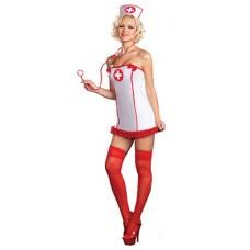 Sykepleier Kostyme