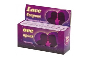 Love Coupons - Romantisk sjekkhefte