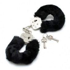 Rimba - Håndjern med sort plysj