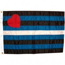 Leatherpride-flag 60 X 90 cm