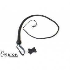 Avalon - BEHEMOTH - Bullwhip heavy handle, Sort 1,5 m