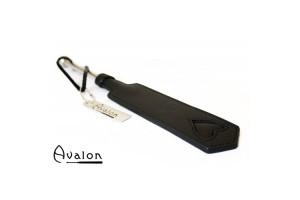 Avalon - Smal paddle med hjerte og metallhåndtak - Sort