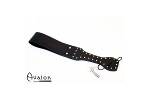 Avalon - Dobbel silikonpaddle - Sort