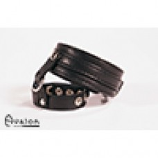 Avalon - cock & ball harness med spenner - Sort