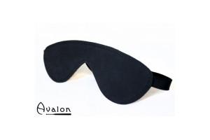 Avalon - Sort Blindfold med polstring
