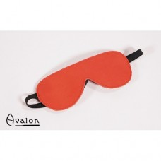 Avalon - Rødt Blindfold med plysj