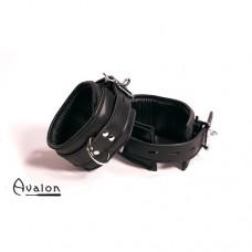 Avalon - Ankelcuffs i sort