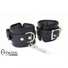 Avalon - ALCHEMY - Polstrede Håndcuffs - Sort