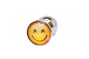 BQS - Buttplug med emoji - Ertende Smiley
