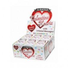 X-rated Valentines hearts - Godteri