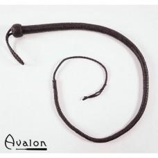 Avalon - Bullwhip heavy handle Sort 1,3 m