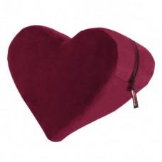 Hjerteformet fløyelspute - Liberator
