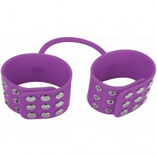 Ouch! - Silikon cuffs Lilla