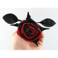 BQS - Rosepisk - rød og sort
