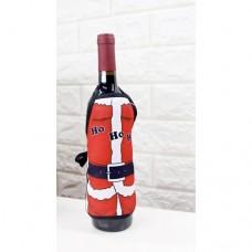 Vinflaskeforkle - Julenisse Ho ho ho