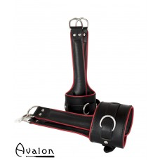 AVALON - LEVITATION - Suspension Cuffs - Sort og Rød