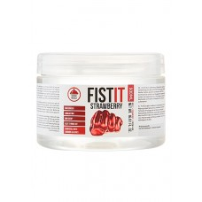 Fist It - 500 ml Vannbasert Glidemiddel - Jordbær