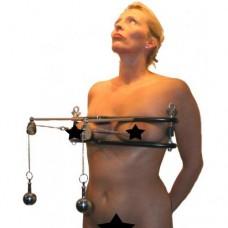 Brystklemmer med brystvorte strammere
