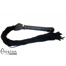 Avalon - EXCALIBUR - Sverdformet Flogger - Svart