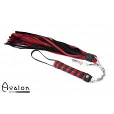 Avalon - CLARENT - Swivel Flogger - Rød og Svart