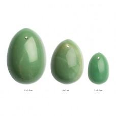 La Gemmes - Yoni egg Set Jade - Vaginakuler Grønn