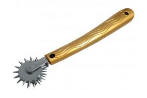 BQS - Pinwheel med 3 Rader - Sølv/Gull