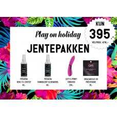 Play On Holiday - Jentepakke