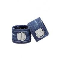 Ouch! Denim Håndcuffs - Blå Denim